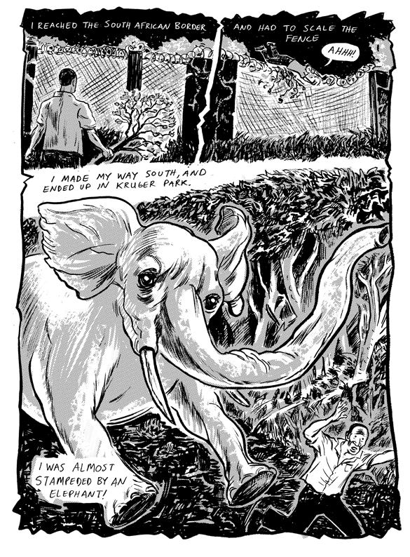 Interior Page from Monkey Chef #2