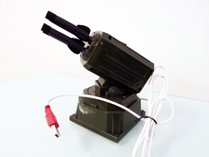 The Rocket Launcher:  Hunt the most dangerous game of all with this USB controlled rocket launcher.
