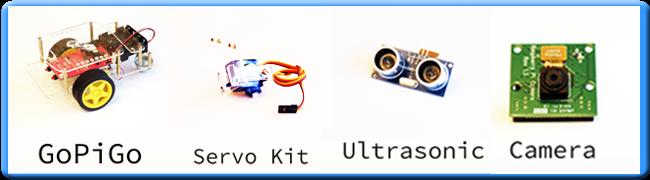 GoPiGo Camera and Ultrasonic Reward