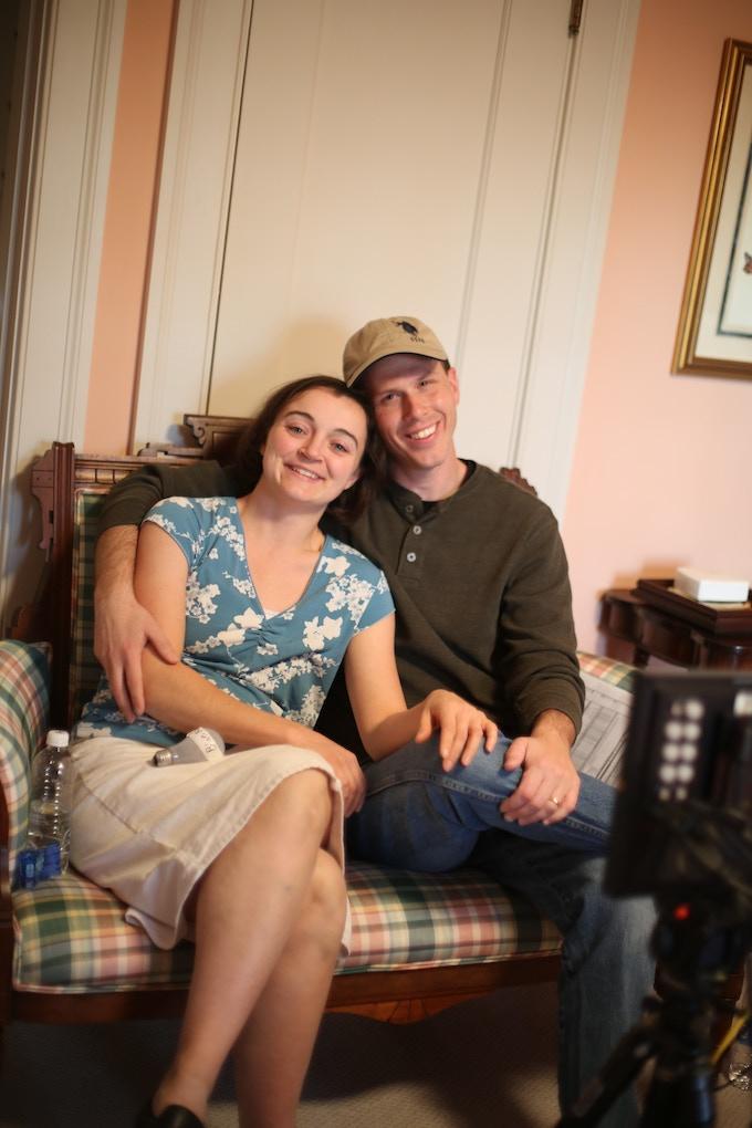 Paul and Sheilah Munger on set of Princess Cut