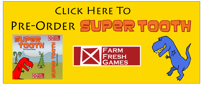 Pre-Order Super Tooth!