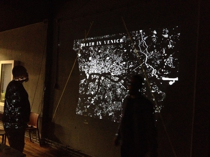 First tests on the Interactive map of London showing the changing landscape of death and modern architecture