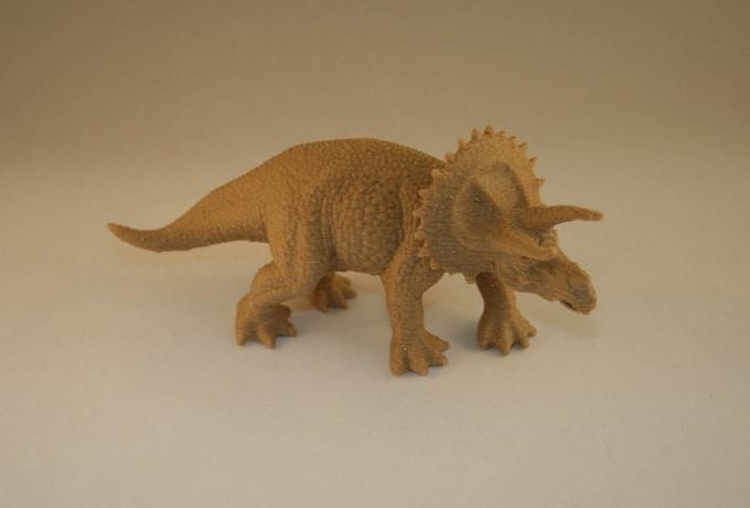 Dinosaur printed in Woodfill / PLA