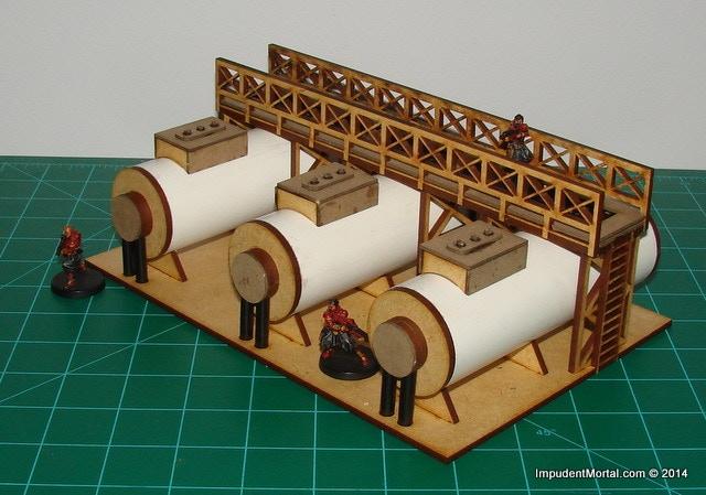 28mm Horizontal Tanks