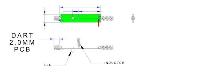 The Dart Printed Circuit Board Schematic
