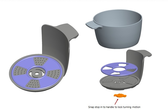 5th Generation CAD Model (Current)