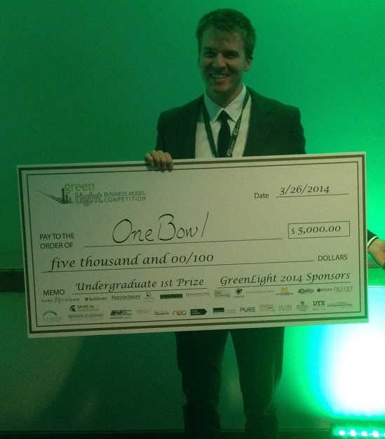 Green Light Business Model Competition 1st Place