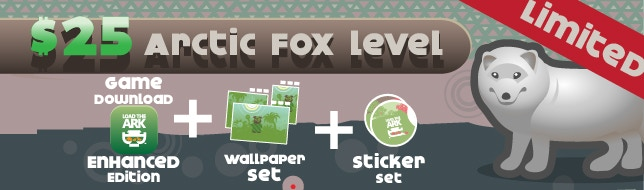Arctic Fox Pledge Level - Limited - only 250!