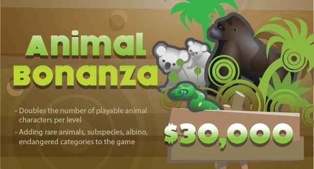 Animal Bonanza Stretch Goal