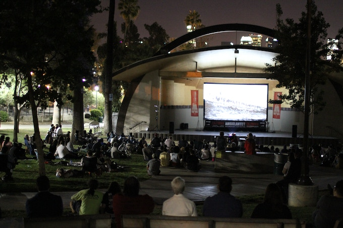 There is no other organization that travels as far and wide to exhibit DOCUMENTARY cinema outdoors and for free to the general public!  Join us in bringing Ambulante to the diverse communties of Los Angeles this year!