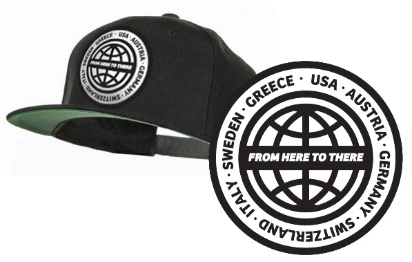FROM HERE TO THERE Kickstarter Limited Edition Hat for Pledges $65+