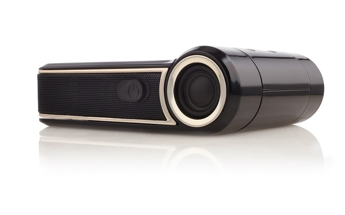Odin android 39 smart 39 projector to carry in your pocket by for Bluetooth projector for iphone
