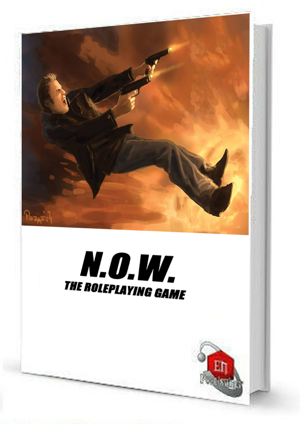N.O.W. is a bonus PDF with an option to upgrade to hardcover as an add-on (see below)