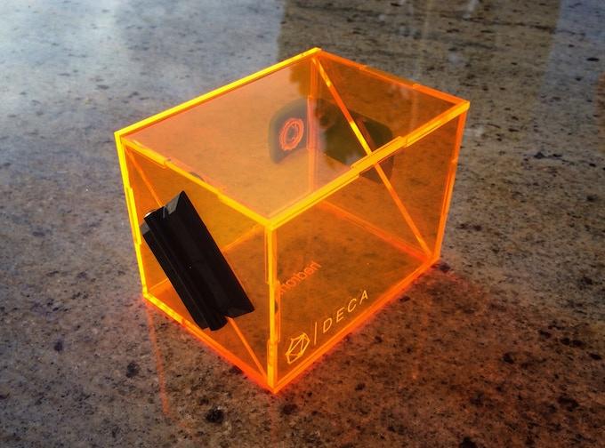 Fluorescent Orange Example