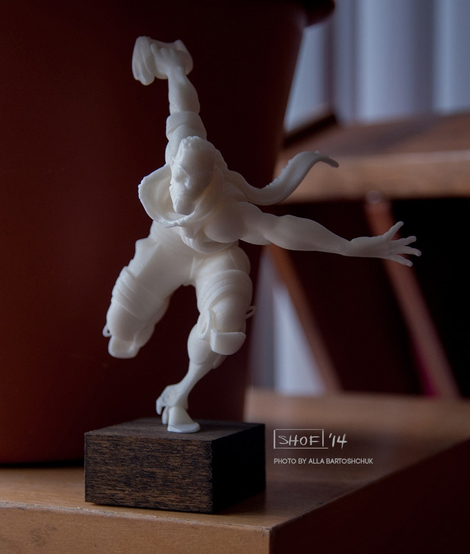 Actual prototype figure