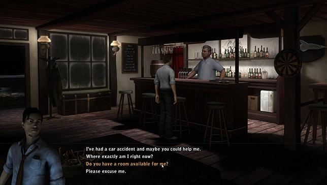 Classic dialogues in Oak Island
