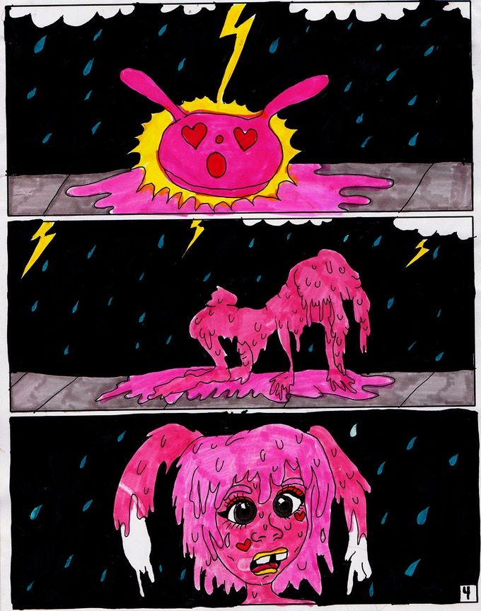 the transformation PAGE 4 of BUTTER #2