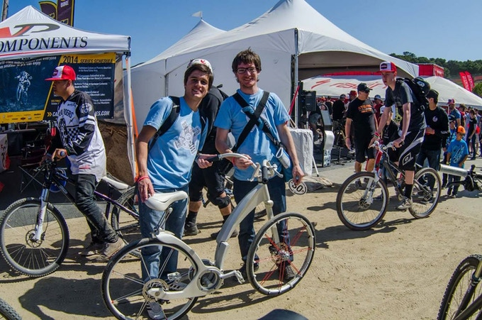 Two of the three creators: Lucas Toledo & Agustín Agustinoy @ Sea Otter Classic Expo
