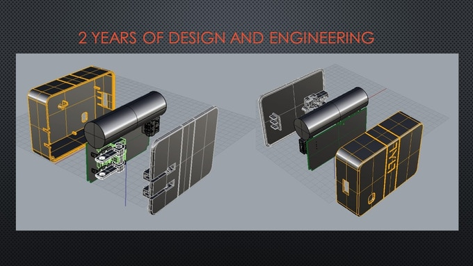 CAD Drawings of Energi Travel Charger 2K