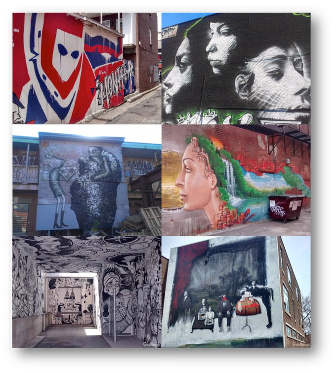 Click here to find them with Graffmap