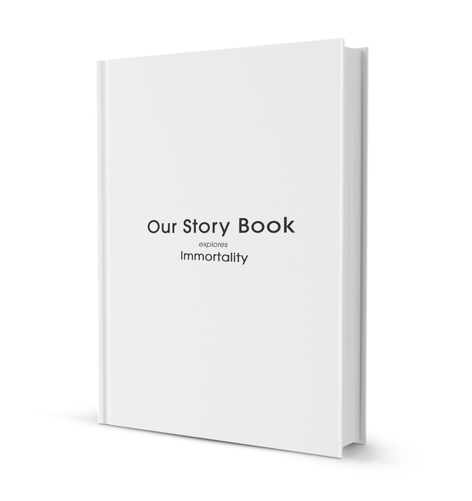 How the hardback version of the Our Story Book might look!