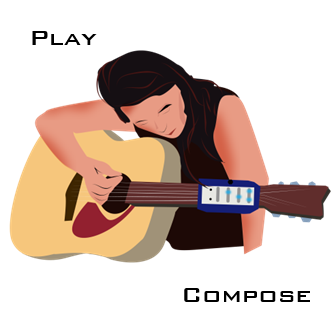 Maybe you are a singer that would like to accompany yourself, but are discouraged by the long learning curve for forming chords in tempo on a guitar.