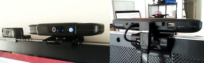 Testing first TVPRO prototype against Logitech HD webcam