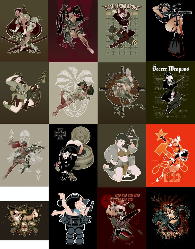 Giclee Canvas and Mouse Pad Options