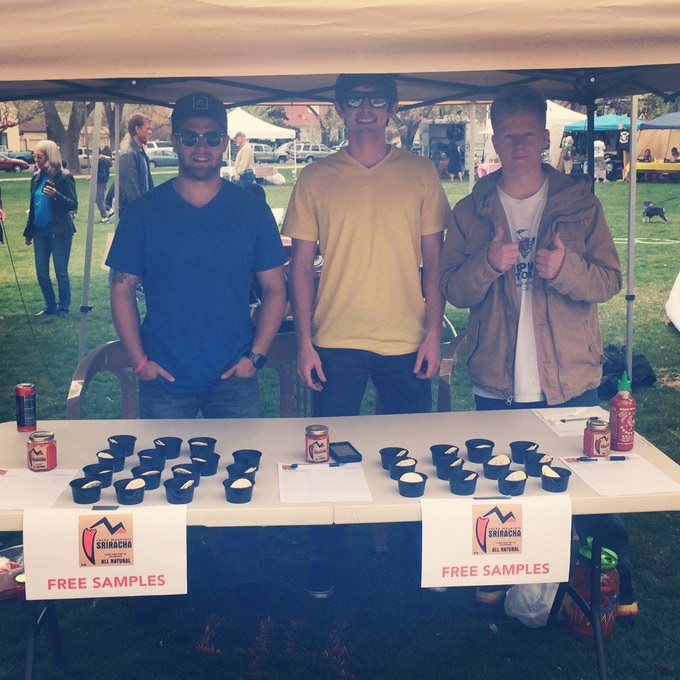 Spreading the RMS flavor at the Southwest Arbor Fest in Grand Junction, CO in April 2014.