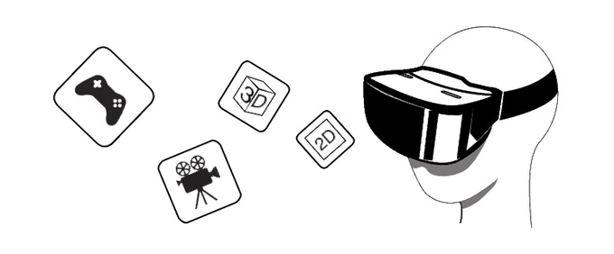 ANTVR KIT  All IN ONE Universal Virtual Reality Kit by ANTVR