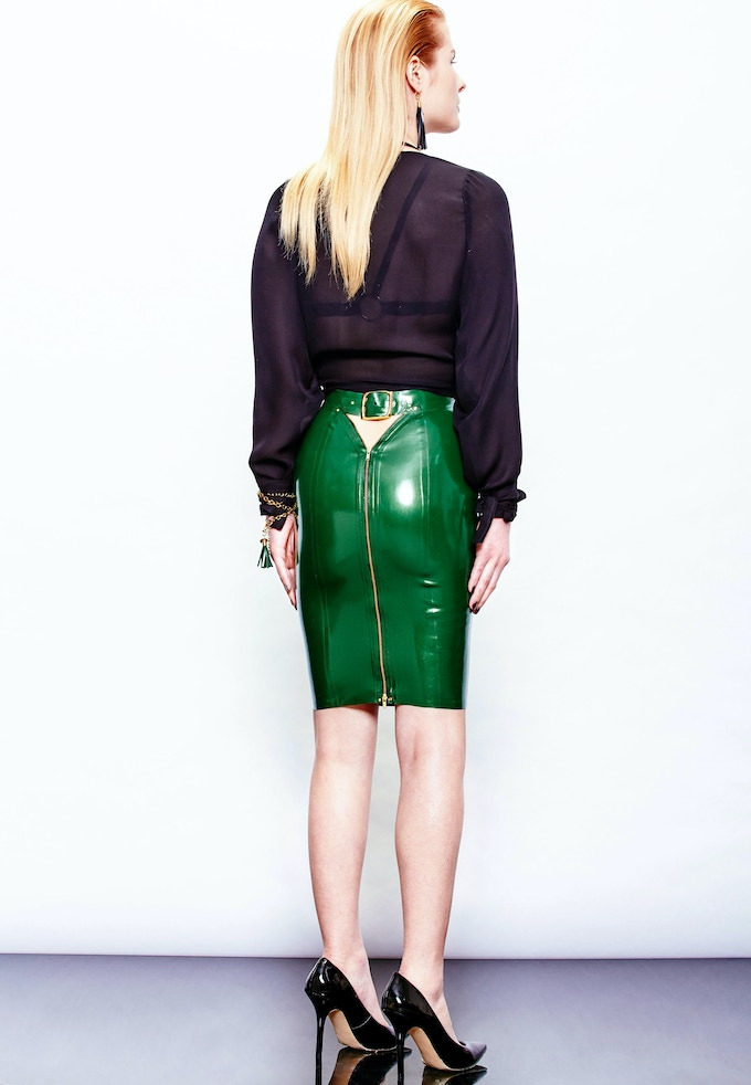 Styled To Rock Zip Back Skirt