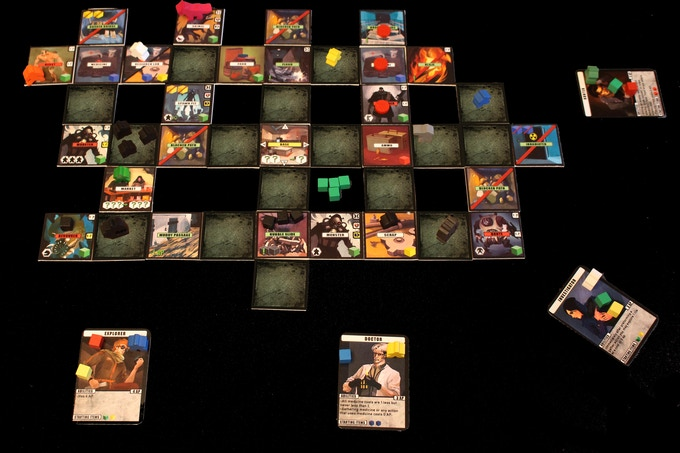 A game in progress (prototype shown)