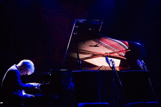 Sakamoto Ryuichi performing amazing music at The Wound and The Gift Kickstarter benefit