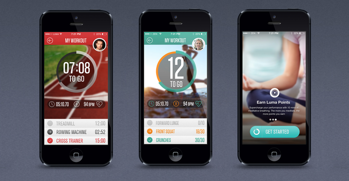 The Apps: GymTracker, BootCamp and Meditation Coach.