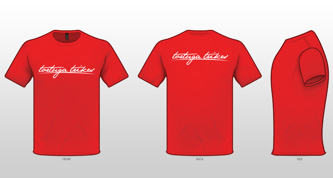 Example of our logo t-shirt!