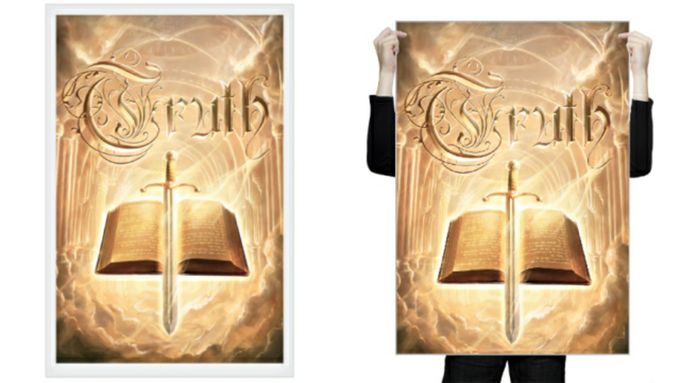 Art Print (left) + Poster (right) - Truth (cover)