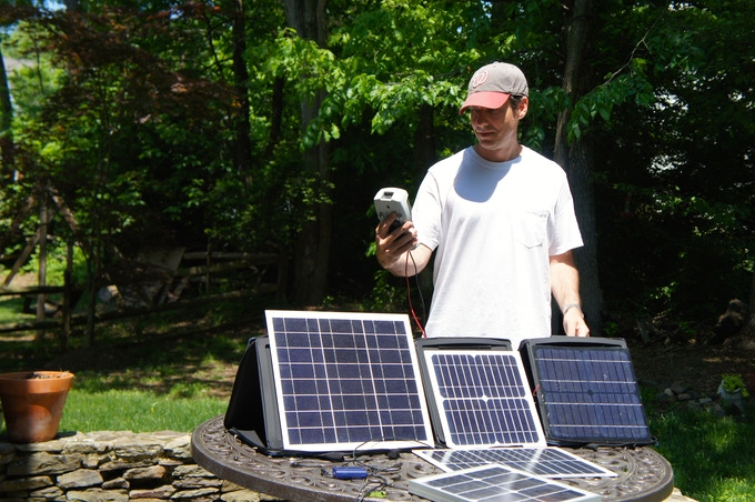 Solar Charging:  My Obsession