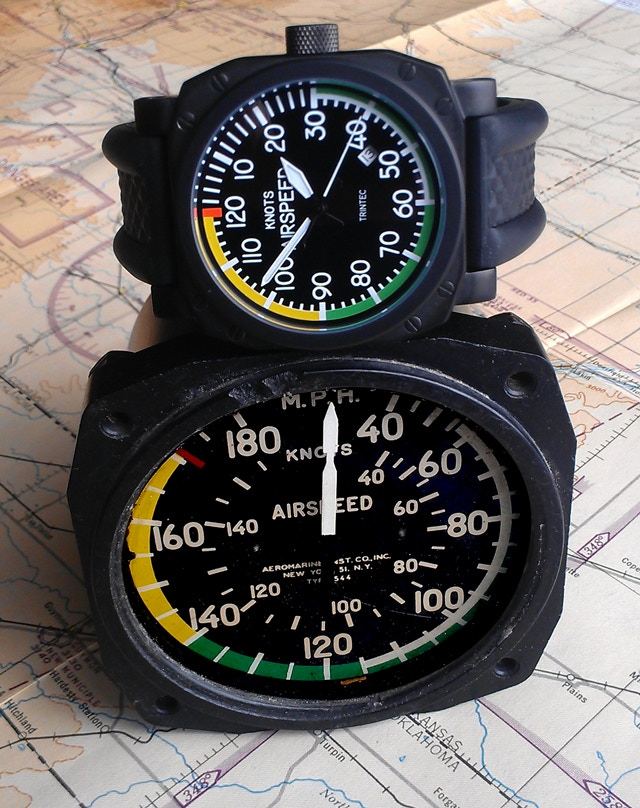 Instrument Inspired 30th Anniversary Airspeed Watch