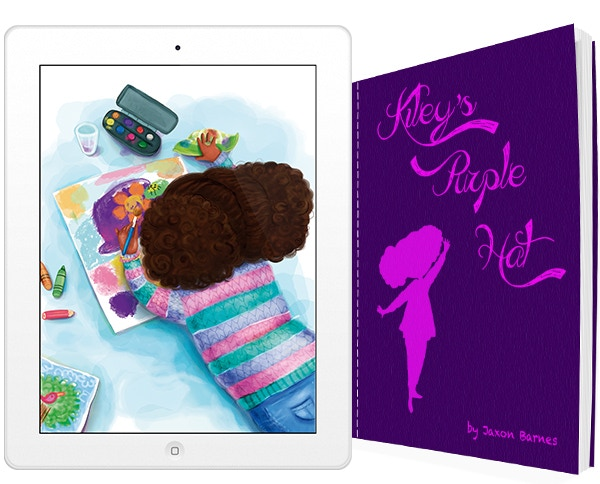 Kiley's Purple Hat, available in print and digital