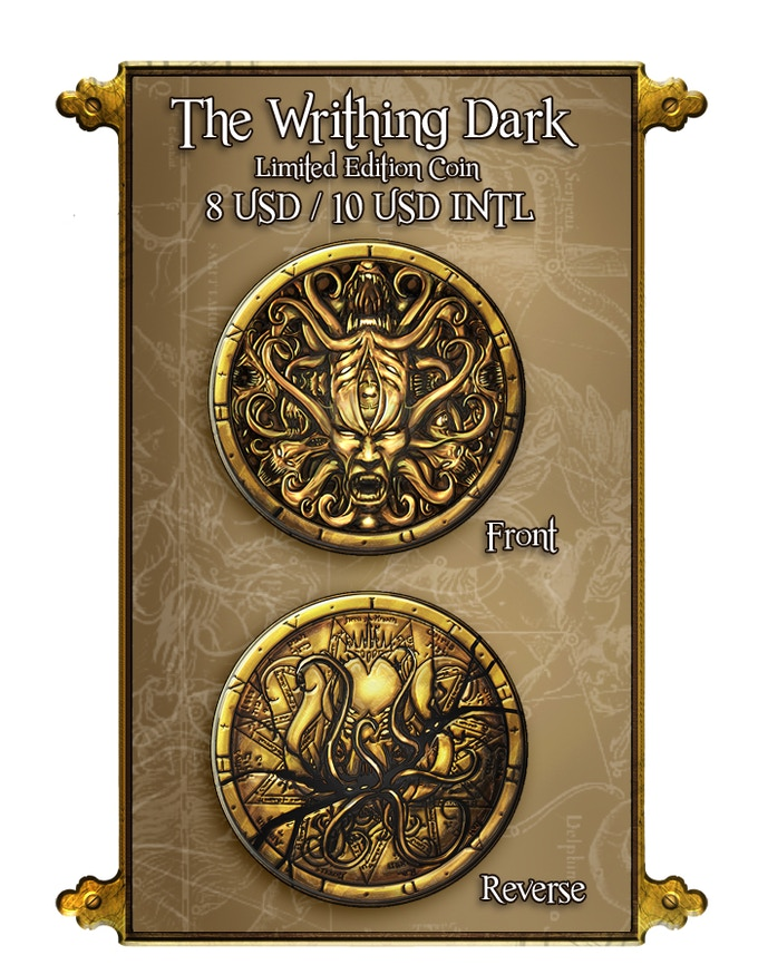 The Writhing Dark Coin Only