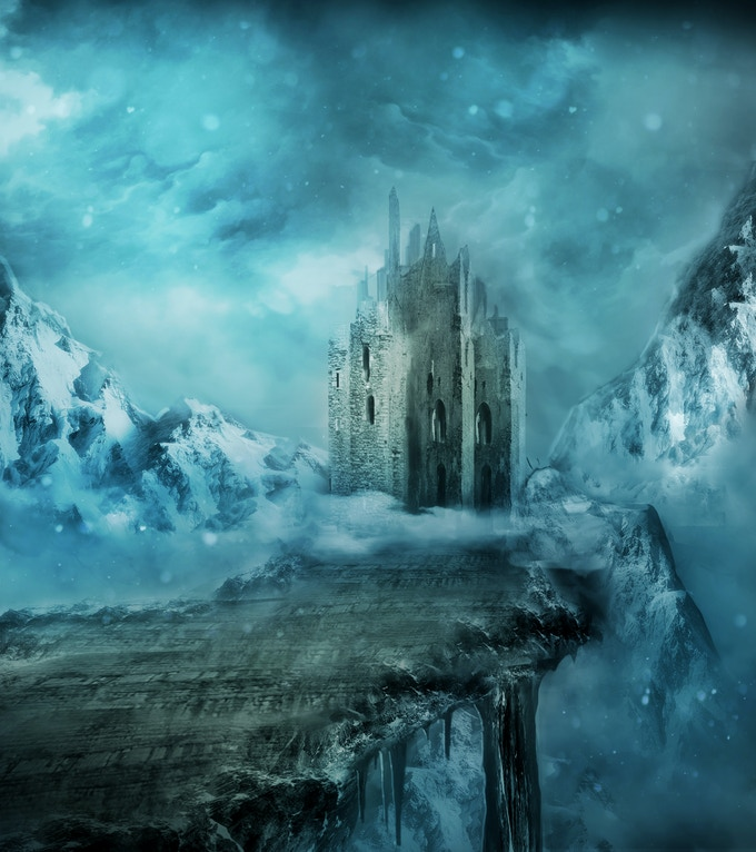 The Ice Bridge is a mysterious expanse of solid ice that mysteriously grows and recedes independently of the weather. Shadowy figures move about in the fortress at its end, but they don't seem interested in leaving their frozen demesne.