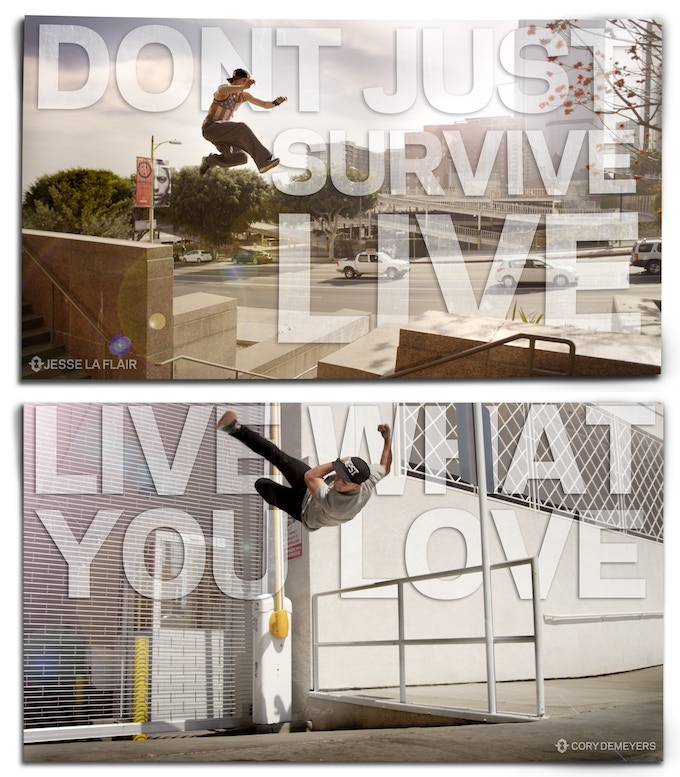 Above posters available as $35 perk. Double perk amount to get both.