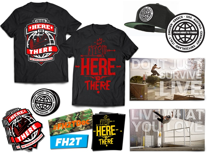 Check out our exclusive From Here to There Kickstarter perks