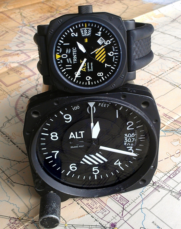 Instrument Inspired 30th Anniversary Altimeter Watch
