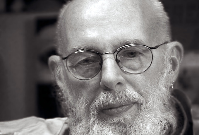 The Late Illustrator Edward Gorey at the start of production in 1996.