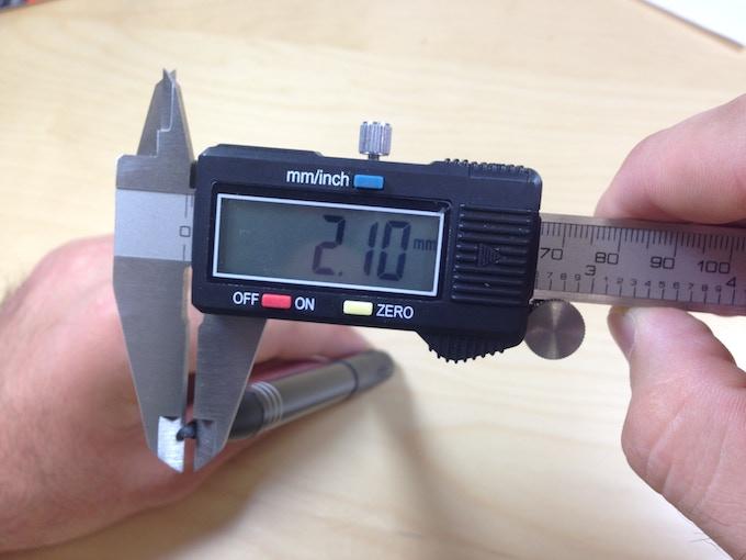 Super Fine 2.1mm tip