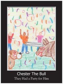Heidi's Illustration from Chester the Bull