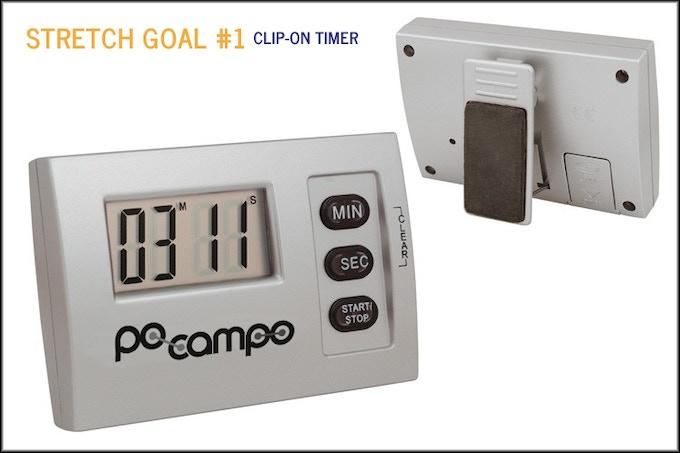 Po Campo Clip-On Timer