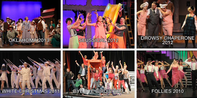 A sample of past MTP musicals. Click on the image for a full list.