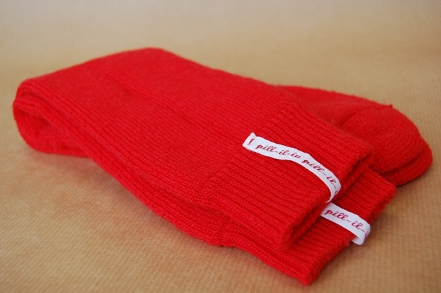 Redshank wool sock reward.